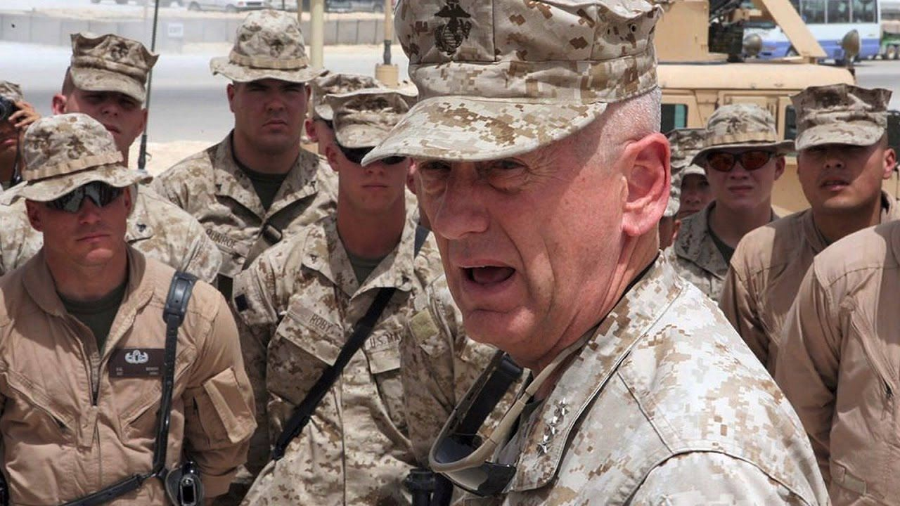 General Jim Mattis Speaks to the Troops